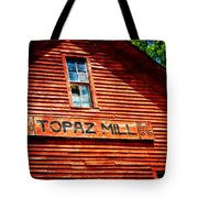 Topaz Tote Bag by Marty Koch