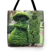 Topiary Couple Tote Bag