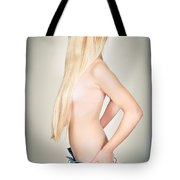 Topless Beauty Tote Bag