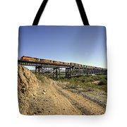 Topock Bridge Freight Tote Bag