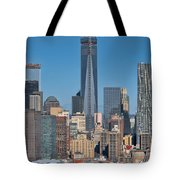 Topping Out Tote Bag
