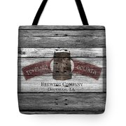 Toppling Goliath Tote Bag