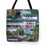 Tops On Niagara St Tote Bag