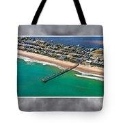 Topsail Island Aerial Panels II Tote Bag