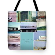 Topsail Island Images From The Past Tote Bag