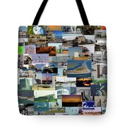 Topsail Island Nc Collage  Tote Bag