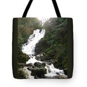 Torc Falls Ireland Tote Bag