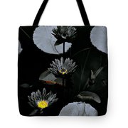 Torchlight Water Flowers Tote Bag