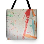 Torn To Red Line  Tote Bag