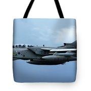 Tornado Takeoff Tote Bag