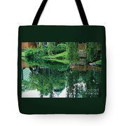 Reflections On Toronto Island Tote Bag