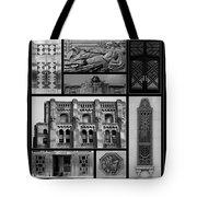 Toronto Art Deco 1 Tote Bag