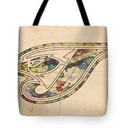Toronto Blue Jays Poster Vintage Tote Bag