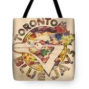 Toronto Blue Jays Vintage Art Tote Bag