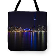 Toronto From Center Island Tote Bag
