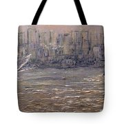 Toronto Harbor Morning Tote Bag
