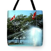 Toronto Island Fountain Tote Bag