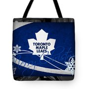 Toronto Maple Leafs Christmas Tote Bag