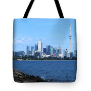 Toronto Ontario Canada Skyline Tote Bag
