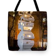 Toronto Sculpture Garden  7d01024 Tote Bag