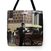 Toronto Traffic Cop 1912 Tote Bag