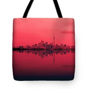 Toronto With A Twist Tote Bag