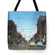 Toronto Yonge And Bloor 1954 Tote Bag