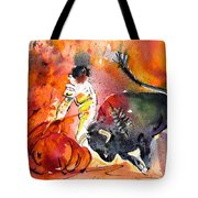 Bullfighting The Reds Tote Bag