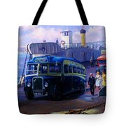 Torpoint Ferry. Tote Bag
