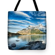 Torres Del Paine Park Tote Bag