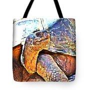 Tortoise Gouache Tote Bag