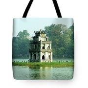 Tortoise Tower 01 Tote Bag