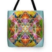 Torusphere Synthesis Bright Beginning Soulin I Tote Bag