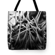 Total Eclipse Of The Sunflower - Bw Tote Bag