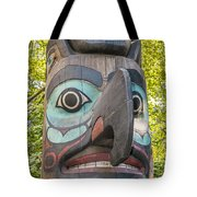 Totem Pole In Seattle  Tote Bag by Bryan Mullennix