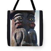 Totem Twins Tote Bag