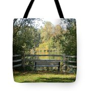 Touch Of Fall In Serenity Tote Bag