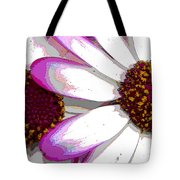 Touch Of Pink Osteospermum Trio B Tote Bag