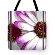 Touch Of Pink Osteospermum Trio Sample Tote Bag