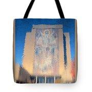 Touchdown Jesus Tote Bag
