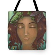 Touched By The Light Tote Bag