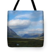 Touching Clouds Tote Bag
