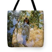 Touching Earth Tote Bag