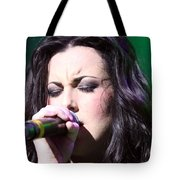 Touching Vocals Tote Bag