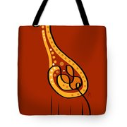 Thoughts And Colors Series Giraffe Tote Bag