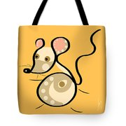 Thoughts And Colors Series Mouse Tote Bag