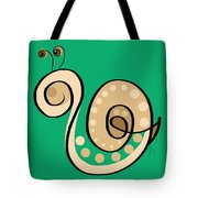 Thoughts And Colors Series Snail Tote Bag