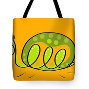 Thoughts And Colors Series Turtle Tote Bag