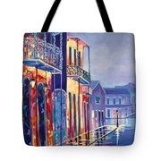 Toulouse At Bourbon New Orleans Tote Bag