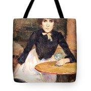Toulouse Lautrec's A La Bastille -- Jeanne Wenz Tote Bag by Cora Wandel